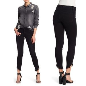 Joe's Jeans The Icon Fray Hem Skinny Ankle Jeans